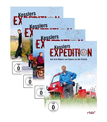Kesslers Expedition Paket - Die Expeditionen 1 - 10 auf insgesamt 14 DVD`s Michael Kessler