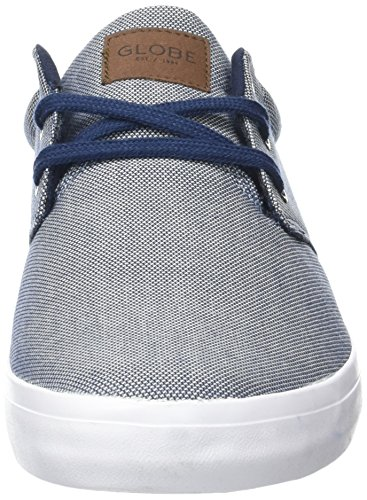 Globe Willow, Scarpe da Skateboard Uomo Blu (Navy Chambray)