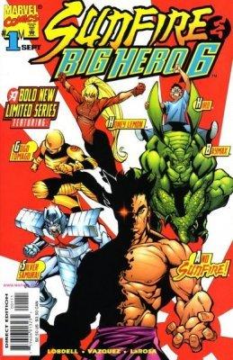 Sunfire and Big Hero Six Issue 1 September 1998 (Big Hero Six Marvel)