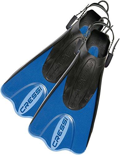 cressi Flossen palau saf, blau hellblau, L/XL-44/47, CA132044