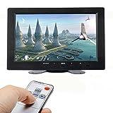 ATian 8 Inch alta resolución 800 * 480, apoyo 1024 * 768, pantalla TFT LCD de pantalla Monitor con HDMI Entrada VGA, DVD VCR coche