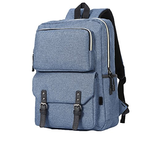 FZHLY Leisure Travel Bag Studenti Di Grande Capienza,LightGreen Blue
