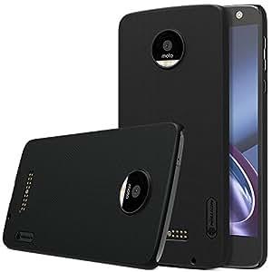MOTO Z Play Cover - IVSO Ultra Slim Protettiva Case Cover Custodia per Motorola MOTO Z Play Smartphone (Slim Fit Series - Nero)