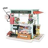 Bauhaus, 3D-Holzminiatur-Kuchen Shop Kits-Handcraft Creative Gifts