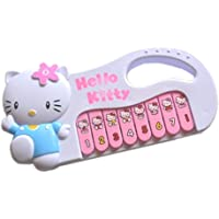 Naksh Toys & Gift Hello Kitty Baby Battery Operated Musical Piano Toy (Small Size)