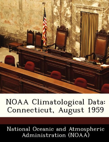 NOAA Climatological Data: Connecticut, August 1959