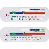 Termometro per frigo e congelatore  confezione da 2