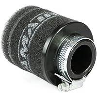 Ramair Filters mr-001motocicleta Pod Filtro de aire, Negro, 28mm