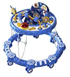 Amardeep Baby Walker Blue color 6+ month...