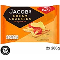 Jakob's Cream Crackers TWIN PACK 200g - Die Originalen und die Besten!