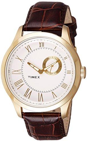 513qAzm0zZL - Timex TWEG14602 E Class Silver Mens watch