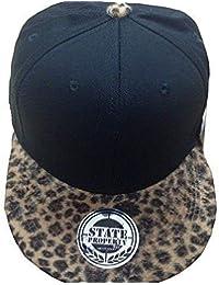 99a3b5e8ded6 State Property Leopard Snapback Caps, Flat Peak Trucker Fitted Unisex Baseball  Hats