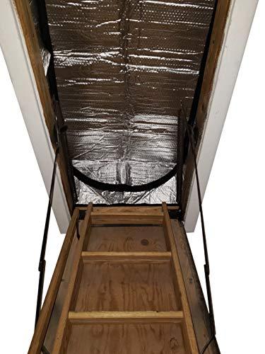 Miloo Dachgeschoss Treppen Isolierung Abdeckung für Pull Down Stair 25