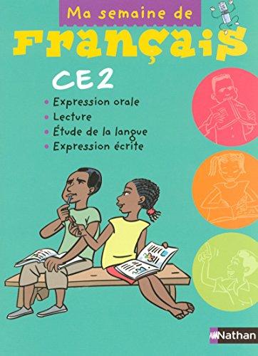 Ma semaine de français CE2
