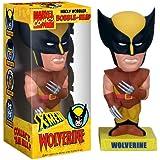 Wolverine traje maron cabezon 16cm PVC