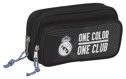 Real Madrid – Estuche portatodo con bolsillo (Safta 811757602)