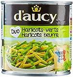 d'aucy Duo Haricots Verts/Haricots Beurre Sous Vide 300 g