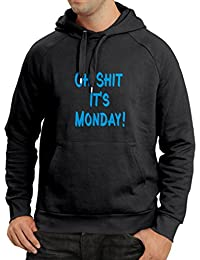 'N4068H sudadera con capucha Oh shit it''s Monday gift'