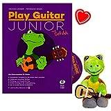Play Guitar Guitare Junior avec Schildi–École de Michael Langer pour enfants–Cours complet pour les deux premiers lemjahre dans un ruban–avec CD, 32autocollants, Note Pince, en peluche...