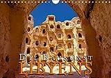 Die Baukunst Libyens (Wandkalender 2020 DIN A4 quer): Libyens traditionelle Architektur der Berber und der Römer (Monatskalender, 14 Seiten ) (CALVENDO Orte) -