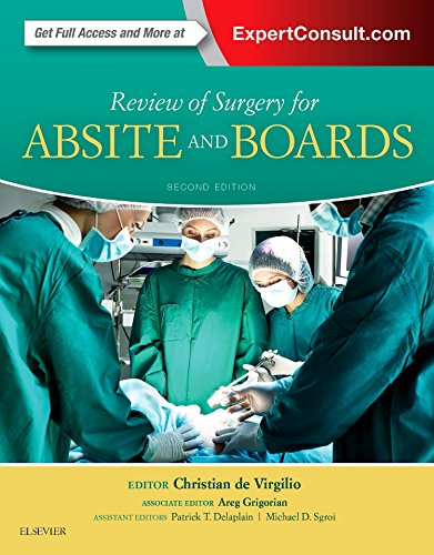 Review of Surgery for ABSITE and Boards, 2e por Christian DeVirgilio MD  FACS