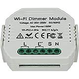 LEDLUX SH105 LED Triac-dimmer fasavsnitt med normalt öppen knapp 220 V 150 W Smart WiFi-modul med minnes- och omdikeringsfunk