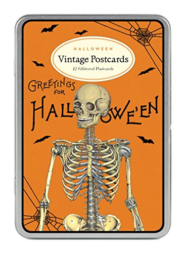 Cavallini Papers & Co Halloween 2Glitzer Vintage ()