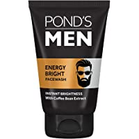 POND'S Men's Energy Bright Face Wash Coffee Beans Bright Skin, 50g