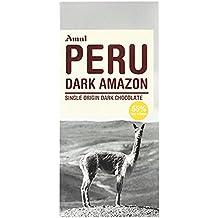 Amul, Single Origin Dark Chocolate, Peru Dark Amazon, (Pack of 4)
