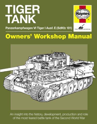 Tiger Tank Manual: Panzerkampfwagen VI Tiger 1 Ausf.e Sdkfz 181 Model