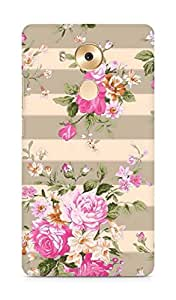 Amez designer printed 3d premium high quality back case cover for Huawei Mate 8 (spring pink flower floral)