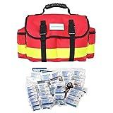 SANISMART Erste-Hilfe-Tasche Office Rot Nylon mit DIN Füllung 13169