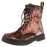 Tamaris Damen Stiefel Rosa/Flower, Schuhgröße:EUR 37