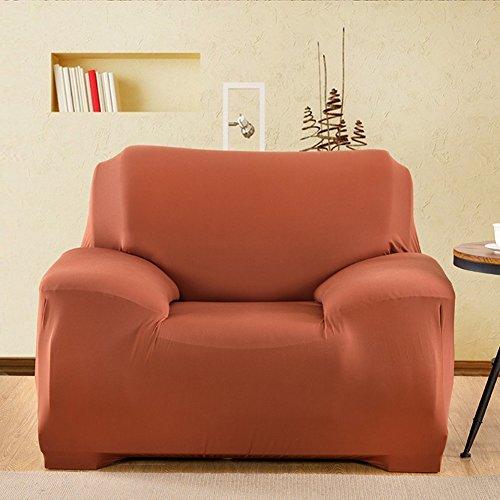 lovecover Stretch sofabezug Hoch elastisch Schutzhüllen Für 1-stück 1 2 3 4 sitzer Sofa Möbel-Protector für Haustier Hund Für die ganze Saison-F Single Seater(35 * 55inch)