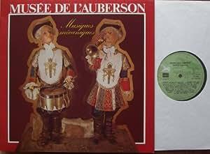 MUSEE DE LÀUBERSON Musiques mecaniques Bildhülle Klappcover evasion DISQUES # EA 100 406