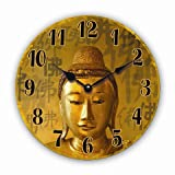 Tinas Collection Wanduhr Vintage (Buddha)