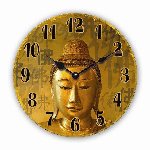 Tinas Collection Wanduhr Vintage (Buddha)