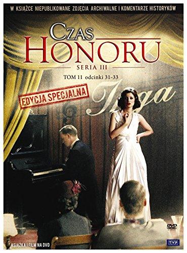 Czas honoru [DVD]+[KSIĄŻKA] [Region 2] (IMPORT) (Keine deutsche Version)