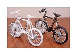ds witzige uhr fahrrad bike rennrad tischuhr b ro deko. Black Bedroom Furniture Sets. Home Design Ideas