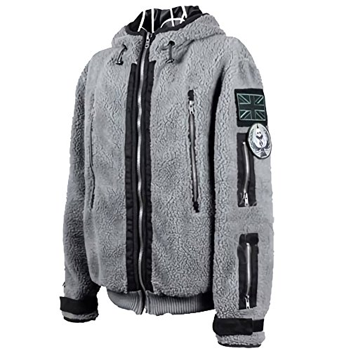 BOODUN Männer Call Of Duty TF141 Jacke Kostüm Tactical Hoodie Ghost Pullover Outfit S