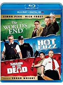 World's End / Hot Fuzz / Shaun of the Dead Trilogy [Blu-ray] [US Import]