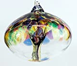 Orb Tree of Life Large Glass Globe - Multicoloured