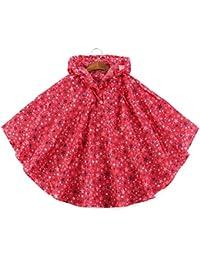 Haodasi Fashion Boy Girl Children Raincoat Impermeable Waterproof Cloak Rainwear Ropa impermeable Kids Poncho Hooded