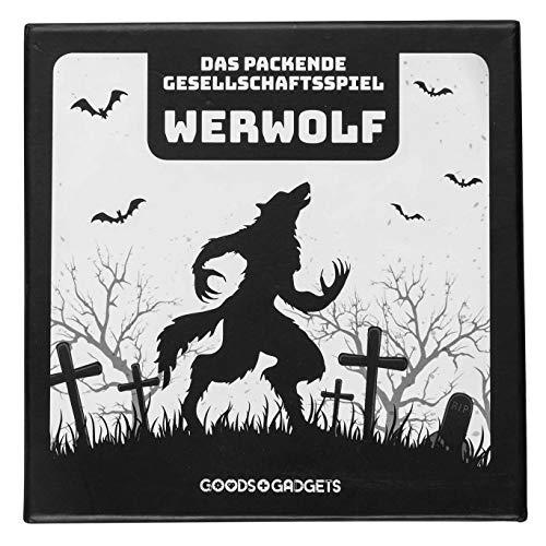 Original Werwolf Kartenspiel Deluxe Partyspiel mit Erweiterung - Werwölfe Rollenspiel Klassiker - 52 Karten Edition mit 30 verschiedenen Charakteren!