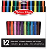 "Melissa & Doug 14221 ""Non-Roll"" Markers"