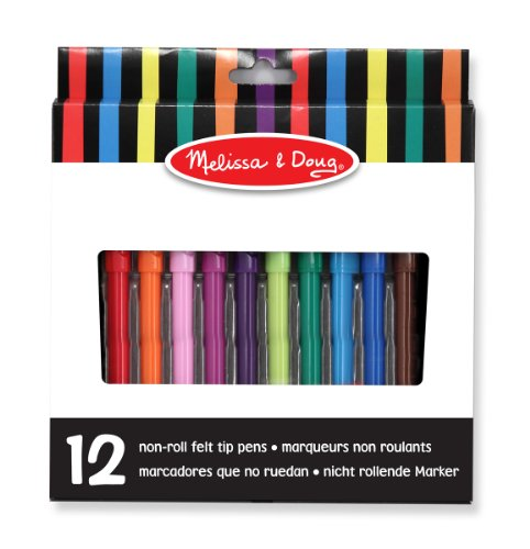 melissa-doug-art-essentials-marker-set-12-non-roll-washable-markers