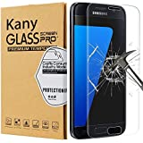 Protector de Pantalla Galaxy S7, Kany Cristal Vidrio Templado [ 9H Dureza][3D Touch] [Alta Definicion]- Anti-Explosion/HD-display ,anti- oil and fingerprints/0.3mm Screen Protector Film Para Samsung Galaxy S7