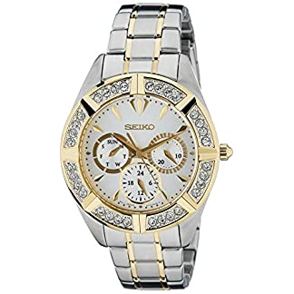 Seiko Lord Chronograph White Dial Women's Watch – SKY676P1