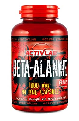 Activlab Beta Alanine - Pack of 128 Capsules