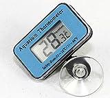 QHDZ LCD Digital Tauch Thermometer Wasserdicht Für Aquarium Mit Saugnapf